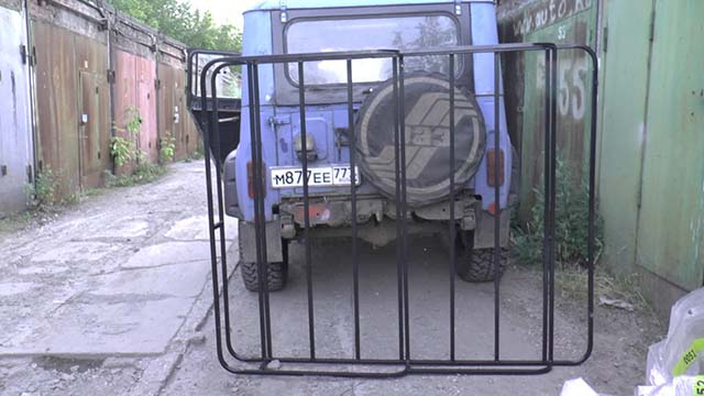 Покупка багажника на УАЗ 469