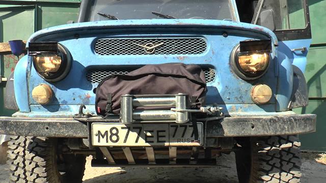 Светомаскировка фар армейская УАЗ 469