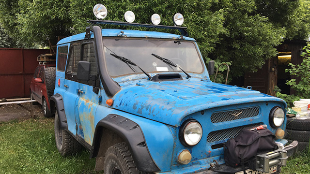 Подключение люстры на УАЗ 469