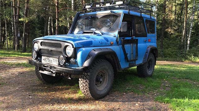 Светодиодная балка на УАЗ 469